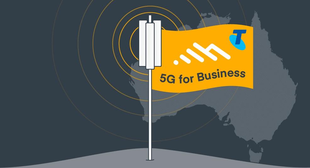 5G for business telstra cradlepoint
