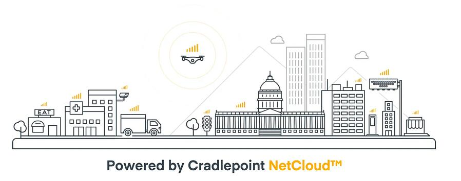Cradlepoint powered by Netcloud