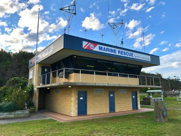 Marine Rescue unit base