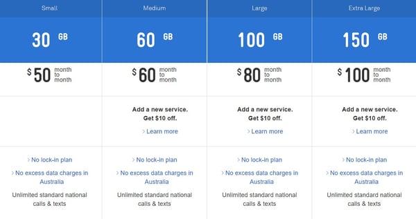 Telstra Tough Max 3 plans