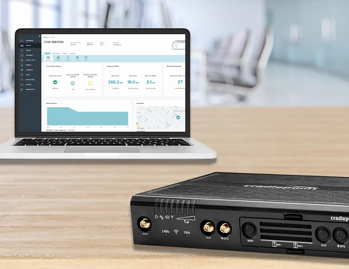 cradlepoint router with netcloud management