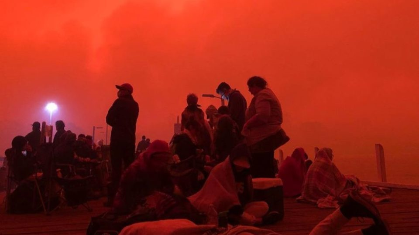 mallacoota bushfire